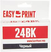 Картридж EasyPrint Canon BCI-21/24 BK (IC-BCI24BK) (120 стр., черный)
