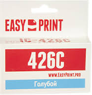Картридж EasyPrint Canon CLI-426C (IC-CLI426C) (462 стр., голубой) с чипом