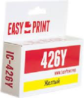 Картридж EasyPrint Canon CLI-426Y (IC-CLI426Y) (450 стр., желтый) с чипом