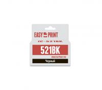 Картридж EasyPrint Canon CLI-521Bk (IC-CLI521BK) (650 стр., черный) с чипом