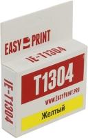 Картридж EasyPrint Epson C13T13044010 (IE-T1304) (1005 стр, желтый) с чипом