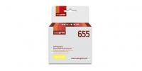 Картридж EasyPrint HP CZ112A (IC-H112) №655 (600 стр., желтый) с чипом