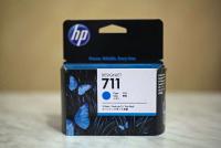 (Акция)Оригинальный картридж HP CZ134A 3-Pack (711) (29 мл., голубой)