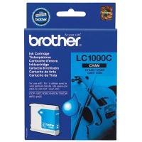 Оригинальный картридж BROTHER LC1000C (400 стр., голубой)