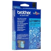 Оригинальный картридж BROTHER LC1100HYC (750 стр., голубой)