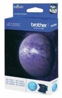 Оригинальный картридж BROTHER LC1220C (300 стр., голубой)
