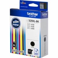 Оригинальный картридж BROTHER LC529XLBK (2400 стр., черный)