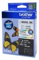 Оригинальный картридж BROTHER LC669XLBK (2400 стр., черный)