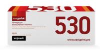 Картридж EasyPrint HP CC530A/CE410X/CF380X/Canon 718BK (LH-530 U) (4400 стр., черный) с чипом
