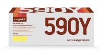 Тонер-картридж EasyPrint Kyocera TK-590Y (LK-590Y) (5000 стр., желтый) с чипом