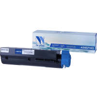 Тонер-картридж NV Print NV-45807102 (Чёрный, 3000 стр)