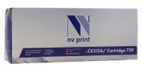 Совместимый картридж NV Print для HP CE313A/Canon 729 Magenta (1000 стр., пурпурный)