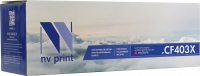 Совместимый картридж NV Print для HP CF403X (2300 стр., пурпурный)