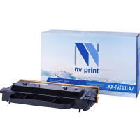 Совместимый картридж NV Print NV-KXFAT430A7 (Чёрный, 6000 стр)