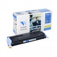 Совместимый картридж NV Print для HP Q6001A/Canon 707 Cyan (2000 стр., голубой)
