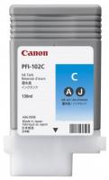 Оригинальный струйный картридж Canon PFI-102C