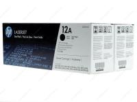 Оригинальный картридж HP Q2612AF (12A) (черный, 2 X 2000 стр.)