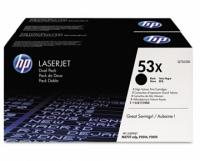 [Уценка] Оригинальный картридж HP Q7553XD (2 шт. * 7000 стр., черный)