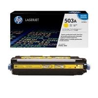 Оригинальный картридж HP Q7582A (6000 стр., желтый)