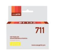 Картридж EasyPrint HP CZ132A (IH-132) №711 (желтый) с чипом