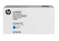 ОРИГИНАЛЬНЫЙ КАРТРИДЖ HP CE401YC (6000 СТР., голубой) ДЛЯ ПРИНТЕРОВ HP Color LaserJet Enterprise 500 M551, HP Color LaserJet Enterprise 500 M575dn, HP Color LaserJet Pro 500 M570dn
