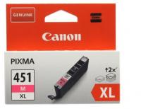 Картридж CANON CLI-451XL M пурпурный, увеличенной емкости