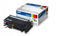 Набор картриджей Samsung CLP-320/25/CLX-3185 b/c/m/y S-print by HP