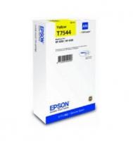 Картридж EPSON T7544 желтый экстраповышенной емкости для WF-8090/8590