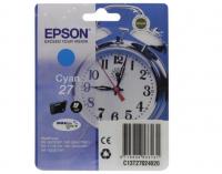 Картридж EPSON T2702 голубой для WF-7110/7610/7620