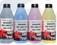 (Уценка)Тонер CLP-680/510/CLX-6220 бан 200г синий TNX