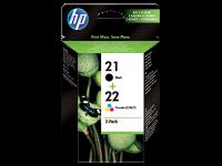 Оригинальный картридж HP SD367AE (21/22) (165 стр., черный + цветной)