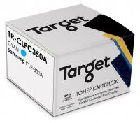 Совместимый картридж Target CLP-C350A (Синий, 2000 стр.)